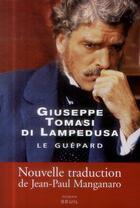 Couverture du livre « Le guépard » de Giuseppe Tomasi Di Lampedusa aux éditions Seuil