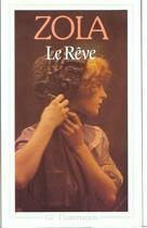 Couverture du livre « Le reve » de Émile Zola aux éditions Flammarion