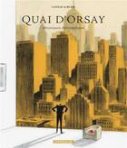 Couverture du livre « Quai d'Orsay t.2 ; chroniques diplomatiques » de Christophe Blain et Abel Lanzac aux éditions Dargaud