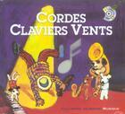 Couverture du livre « Cordes claviers vents » de Sauerwein aux éditions Gallimard-jeunesse