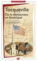 Couverture du livre « De la démocratie en Amérique » de Alexis De Tocqueville aux éditions Flammarion
