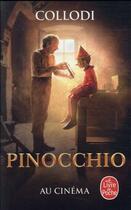 Couverture du livre « Les aventures de Pinocchio » de Carlo Collodi aux éditions Lgf