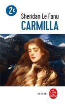 Couverture du livre « Carmilla » de Joseph Sheridan Le Fanu aux éditions Lgf