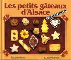Couverture du livre « Petits gateaux d'alsace » de Suzanne Roth aux éditions La Nuee Bleue