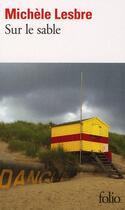 Couverture du livre « Sur le sable » de Michele Lesbre aux éditions Gallimard