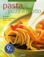 Couverture du livre « Pizza, pasta et risotto » de  aux éditions Atlas