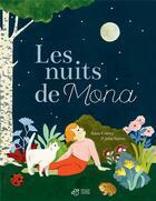 Couverture du livre « Les nuits de Mona » de Anne Cortey et Julia Spiers aux éditions Thierry Magnier