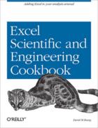 Couverture du livre « Excel Scientific and Engineering Cookbook » de David M Bourg aux éditions O'reilly Media