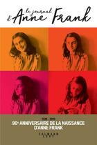Couverture du livre « Journal Anne Frank (édition 2019) » de Anne Frank aux éditions Calmann-levy