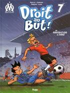 Couverture du livre « Droit au but ! T.7 ; la malédiction de Nino » de Skiav et Zampano et Jean-Luc Garrera et Thierry Agnello aux éditions Hugo Bd