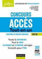 Couverture du livre « Concours acces - 5e ed. - tout-en-un » de Speller M-V. aux éditions Dunod