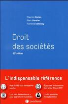 Couverture du livre « Droit des sociétés (30e édition) » de Maurice Cozian et Alain Viandier et Florence Deboissy aux éditions Lexisnexis