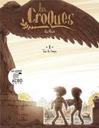 Couverture du livre « Les Croques T.1 ; tuer le temps » de Lea Maze aux éditions Editions De La Gouttiere