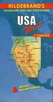 Couverture du livre « USA ouest » de Collectif aux éditions Hildebrand