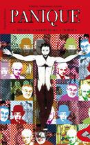 Couverture du livre « Panique ; arrabal, jodorowsky, topor » de Frederic Aranzueque-Arrieta aux éditions Harmattan