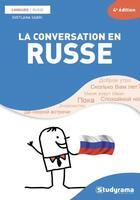 Couverture du livre « La conversation en russe » de Svetlana Sabri aux éditions Studyrama