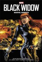 Couverture du livre « Black Widow ; marvel knights » de Greg Rucka et David Grayson et J.G. Jones aux éditions Panini