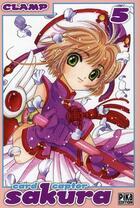 Couverture du livre « Card captor Sakura - édition double T.3 » de Clamp aux éditions Pika