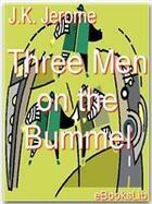 Couverture du livre « Three Men on the Bummel » de J.K. Jerome aux éditions Ebookslib
