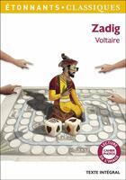 Couverture du livre « Zadig » de Voltaire aux éditions Flammarion