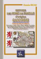 Couverture du livre « Histoire des noms de famille d'origine gasconne » de Osmin Ricau aux éditions Editions Des Regionalismes