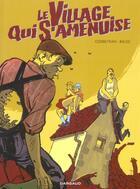 Couverture du livre « Long courrier - le village qui s'amenuise » de Eric Corbeyran aux éditions Dargaud