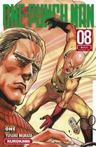 Couverture du livre « One-Punch Man T.8 ; c'était lui » de Yusuke Murata et One aux éditions Kurokawa