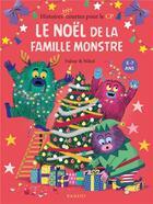 Couverture du livre « Le Noël de la famille Monstre » de Falzar et Nikol aux éditions Rageot
