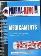 Couverture du livre « Pharma memo medicaments 2013 » de C.Visseaux aux éditions Vernazobres Grego