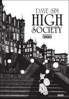 Couverture du livre « High society » de Dave Sim aux éditions Vertige Graphic
