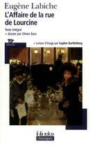 Couverture du livre « L'affaire de la rue de lourcine » de Eugene Labiche aux éditions Gallimard