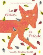 Couverture du livre « Le renard et l'étoile » de Coralie Bickford-Smith aux éditions Gallimard-jeunesse