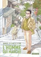 Couverture du livre « L'homme qui marche » de Jiro Taniguchi aux éditions Casterman