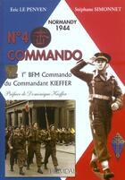 Couverture du livre « N°4 commando » de Eric Le Penven et Stephane Simonnet aux éditions Heimdal