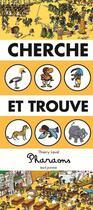 Couverture du livre « Cherche et trouve ; pharaons » de Thierry Laval aux éditions Seuil Jeunesse