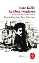 Couverture du livre « La métamorphose ; étude sur Vladimir Nabokov » de Franz Kafka aux éditions Lgf