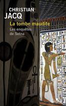 Couverture du livre « La tombe maudite » de Christian Jacq aux éditions Gabelire