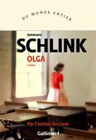Couverture du livre « Olga » de Bernhard Schlink aux éditions Gallimard