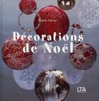Couverture du livre « Décorations de noël » de Olivier/Vernichon aux éditions Le Temps Apprivoise