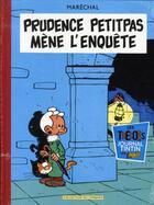 Couverture du livre « Prudence Petitpas ; intégrale t.1 » de Pierre Marechal aux éditions Lombard