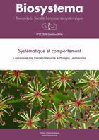 Couverture du livre « Biosystema : Systématique et comportement - n°27/2010 (réédition 2014) » de Philippe Grandcolas et Pierre Deleporte aux éditions Materiologiques