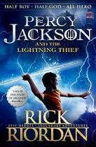 Couverture du livre « PERCY JACKSON AND THE LIGHTNING THIEF » de Rick Riordan aux éditions Children Pbs