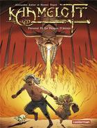 Couverture du livre « Kaamelott t.4 ; Perceval et le dragon d'airain » de Alexandre Astier et Steven Dupre aux éditions Casterman