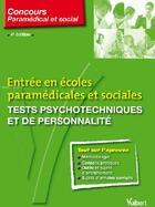 Couverture du livre « Tests psychotechniques et de personnalité (4e édition) » de Ghyslaine Benoist aux éditions Vuibert