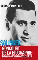 Couverture du livre « Salinger intime » de Denis Demonpion aux éditions Robert Laffont