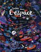 Couverture du livre « Cachés dans l'espace » de Peggy Nille aux éditions Actes Sud Junior