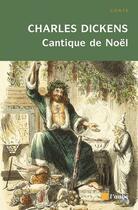 Couverture du livre « Cantique de Noël » de Charles Dickens aux éditions Editions De L'aube