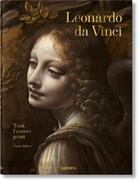 Couverture du livre « Léonard de Vinci ; tout l'oeuvre peint » de Frank Zollner aux éditions Taschen