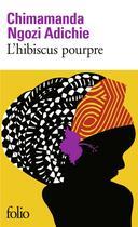 Couverture du livre « L'hibiscus pourpre » de Chimamanda Ngozi Adichie aux éditions Gallimard