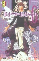 Couverture du livre « Death note t.6 » de Ohba/Obata aux éditions Kana